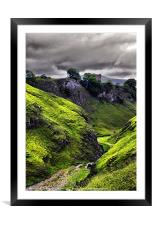 Cavedale, Framed Mounted Print
