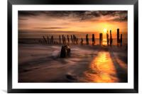 Blinded By The Light !, Framed Mounted Print