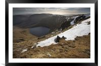 Blea Water From High Street, Framed Mounted Print
