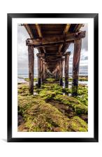 Infinity Pier, and beyond, Framed Mounted Print