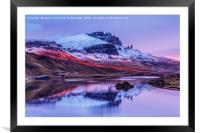 Chasing The Sunlight at Loch Fada II, Framed Mounted Print