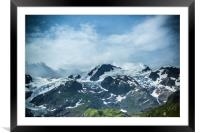 The Swiss Alps #3, Framed Mounted Print