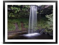 Small Waterfall, Framed Mounted Print