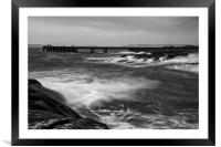 Stormy Waters, Framed Mounted Print