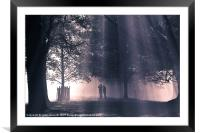 Into the Light 2, Framed Mounted Print