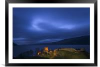Urquhart Castle, Framed Mounted Print