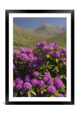 Glen Etive, Framed Mounted Print