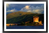 Eilean Donan sunset, Framed Mounted Print