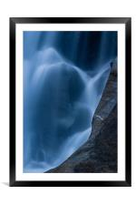 Water I, Framed Mounted Print