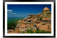 Volterra, Framed Mounted Print