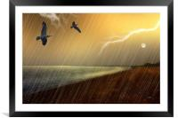 STORMY MONDAY, Framed Mounted Print