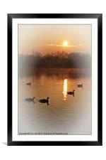 AND THE SUN WILL SHINE, Framed Mounted Print