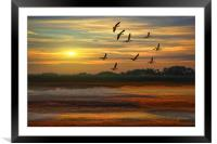 A Wonderful Day, Framed Mounted Print