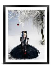 Gothic Winter, Framed Mounted Print