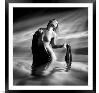Lady Of The Lake, Framed Mounted Print