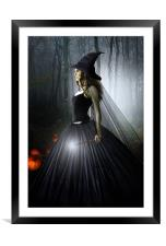 The Witching Hour, Framed Mounted Print
