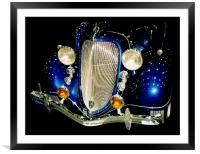 1933 Ford Coupe, Framed Mounted Print