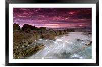 Coastal Sunrise, Framed Mounted Print