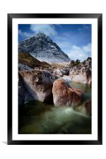 Buachaille Etive Mo'r, Framed Mounted Print