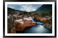 River Etive, Framed Mounted Print