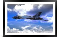 XH558, Framed Mounted Print
