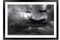 Night Fighters, Framed Mounted Print