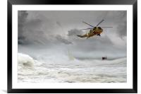 Search and Rescue, Framed Mounted Print