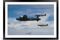 The Battle of Britain Memorial Flight, Framed Mounted Print
