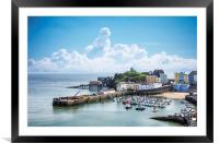 Tenby Colours, Framed Mounted Print