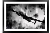In To The Breach , Framed Mounted Print