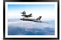 The RAF Pay Tribute, Framed Mounted Print