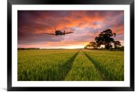 Spitfire Country, Framed Mounted Print