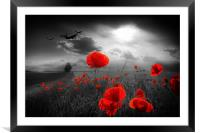 Royal Air Force Tribute - Selective, Framed Mounted Print