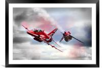 Red Arrows Pass 2016, Framed Mounted Print
