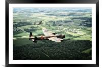 Lincolnshire Warbirds, Framed Mounted Print