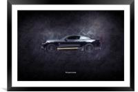 Mustang GT-H, Framed Mounted Print