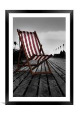 To be beside the seaside, Framed Mounted Print