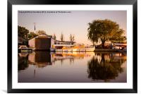 Bridgecraft Acle, Framed Mounted Print