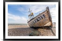 RX435 at Dungeness, Framed Mounted Print