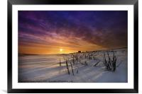 WInters Morning, Framed Mounted Print
