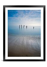 Happisburgh, Framed Mounted Print