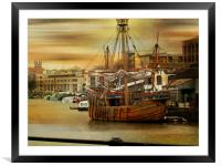 Shipshape and Bristol Fashion., Framed Mounted Print