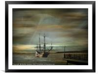 Dream Traveller, Framed Mounted Print