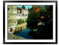 View from the Bridge, Framed Mounted Print