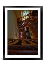 Nice urbex stairs, Framed Mounted Print