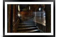 Oak Stairs, Framed Mounted Print