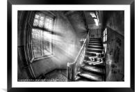 Evening urbex, Framed Mounted Print