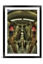 No entry!!!, Framed Mounted Print