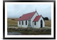 Syre Church, Framed Mounted Print