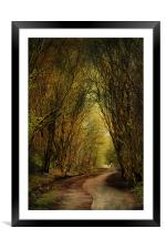 Priestly Clough, Framed Mounted Print